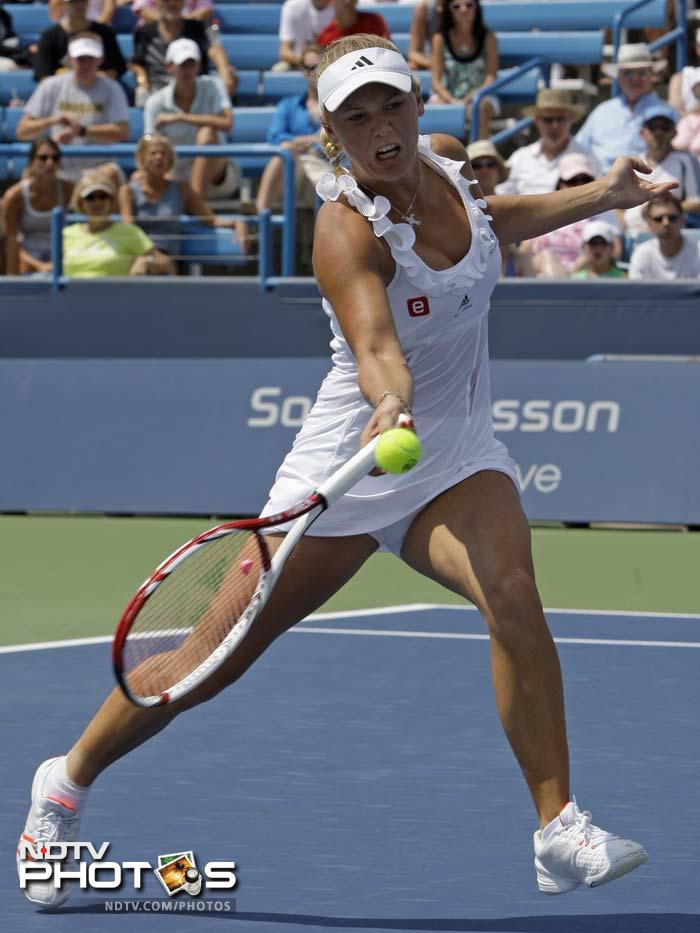 <b>World ranking:</b> 1 <b>Career Singles titles:</b> 17; <b>Grand Slam singles titles:</b> 0 <b>Best US Open result:</b> Runner-up (2009)<br><br> Wozniacki's runner-up finish to Kim Clijsters at the 2009 US Open remains her best Grand Slam performance. She has consolidated her world number one ranking this year with tournament wins at Dubai, Indian Wells, Brussels, Charleston and Copenhagen. However, doubts remain about the Dane's temperament after she flopped again in the Grand Slams with a semi-final loss in Australia followed by a disappointing third round exit at the French Open and a fourth-round defeat at Wimbledon. Since then she has made early exits at Bastad, Toronto and Cincinnati and dropped her father Piotr as her coach.