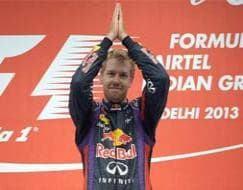 Photo : Sebastian Vettel races his way to F1 glory