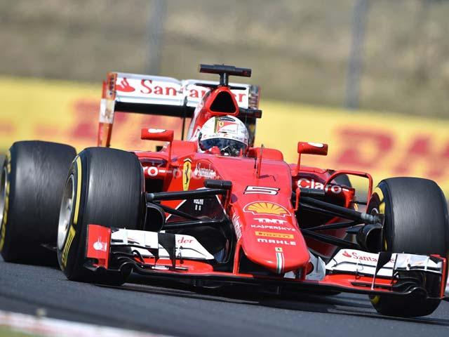 Sebastian Vettel Wins Maiden Hungarian Grand Prix