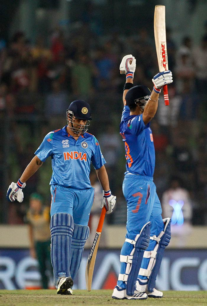 Kohli never lost sight of either the objective - 173 runs, or his strategies to achieve them. <br><br>That he had body pain before the match was a minor detail - and details hardly ever bother the brave and the daring.