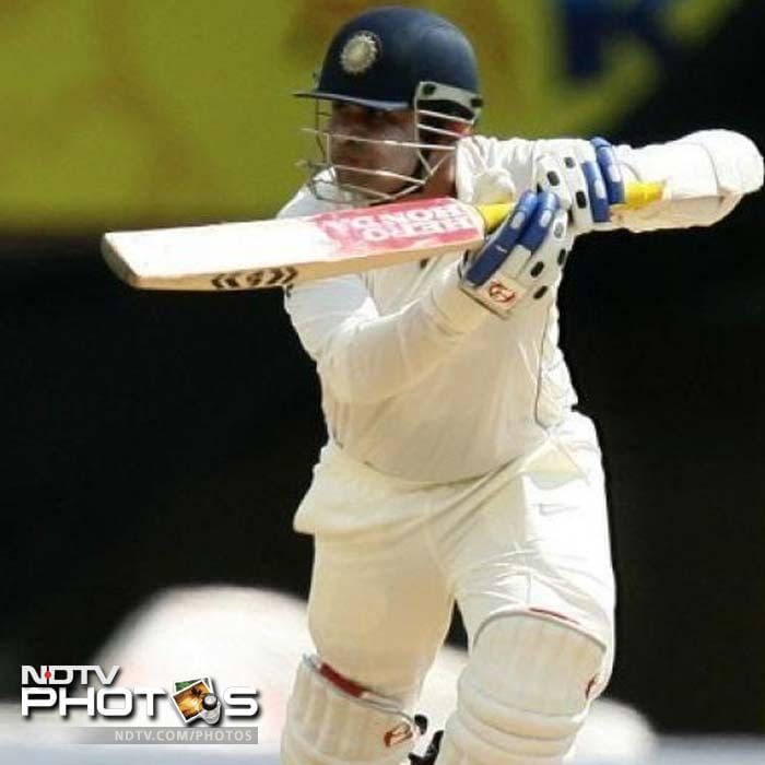 <b>293 vs Sri Lanka. Mumbai 2009</b> <br> <br> Replying to a total 393, Sehwag blasted the Lankan attack with a 254-ball 293. MS Dhoni came up with a ton, as India posted a massive 726.