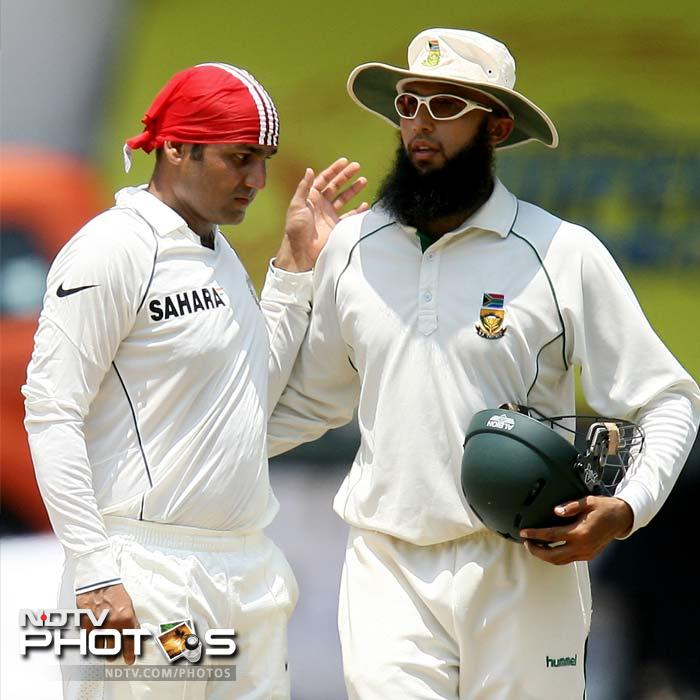 <b>319 vs South Africa. Chennai 2008 </b> <br> <br> Now that was mammoth. But what is fascinating was the way that it came -- in 304 balls, that had 42 boundaries 5 sixes. South Africa had posted a solid 540 with a fine century from Hashim Amla. But Sehwag blunted Dale Steyn, Mkhaya Ntini and Morne Morkel for his triple century. Rahul Dravid stood by him with a 111.