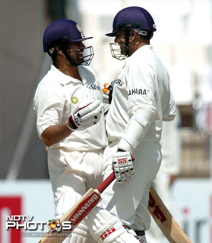 <b>309 vs Pakistan. Multan 2004</b> <br> <br> Everyone knew Sehwag could get a triple hundred, only if he controlled with 'natural way' of hitting. He didn't, and that's probably the reasonw hy he became the first Indian triple centurion. Cream on the cake -- it came against Pakistan, in Pakistan. Sachin Tendulkar was there with Sehwag in his moment of glory.