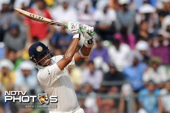 Sachin did not lose focus and was well-supported by VVS Laxman, the next man at the crease after Dravid. The two took India to 281 at close of play, with Sachin unbeaten on 67.