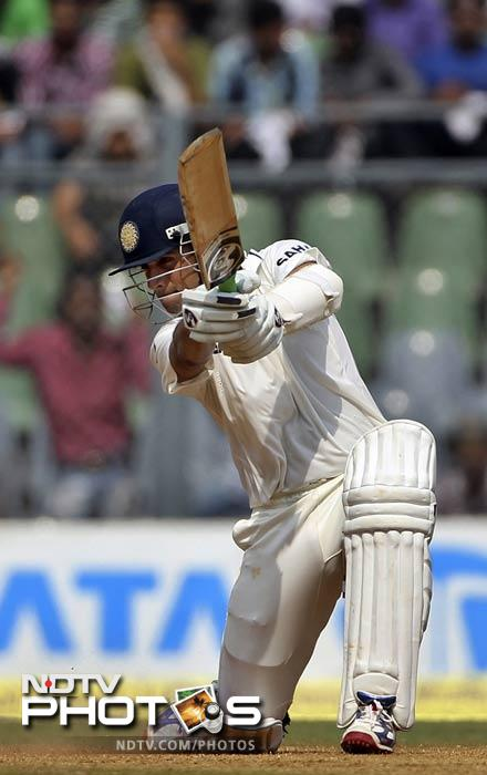 The experienced Test campaigner had 11 of his shots find the boundary as he anchored himself in to give India a solid foundation.