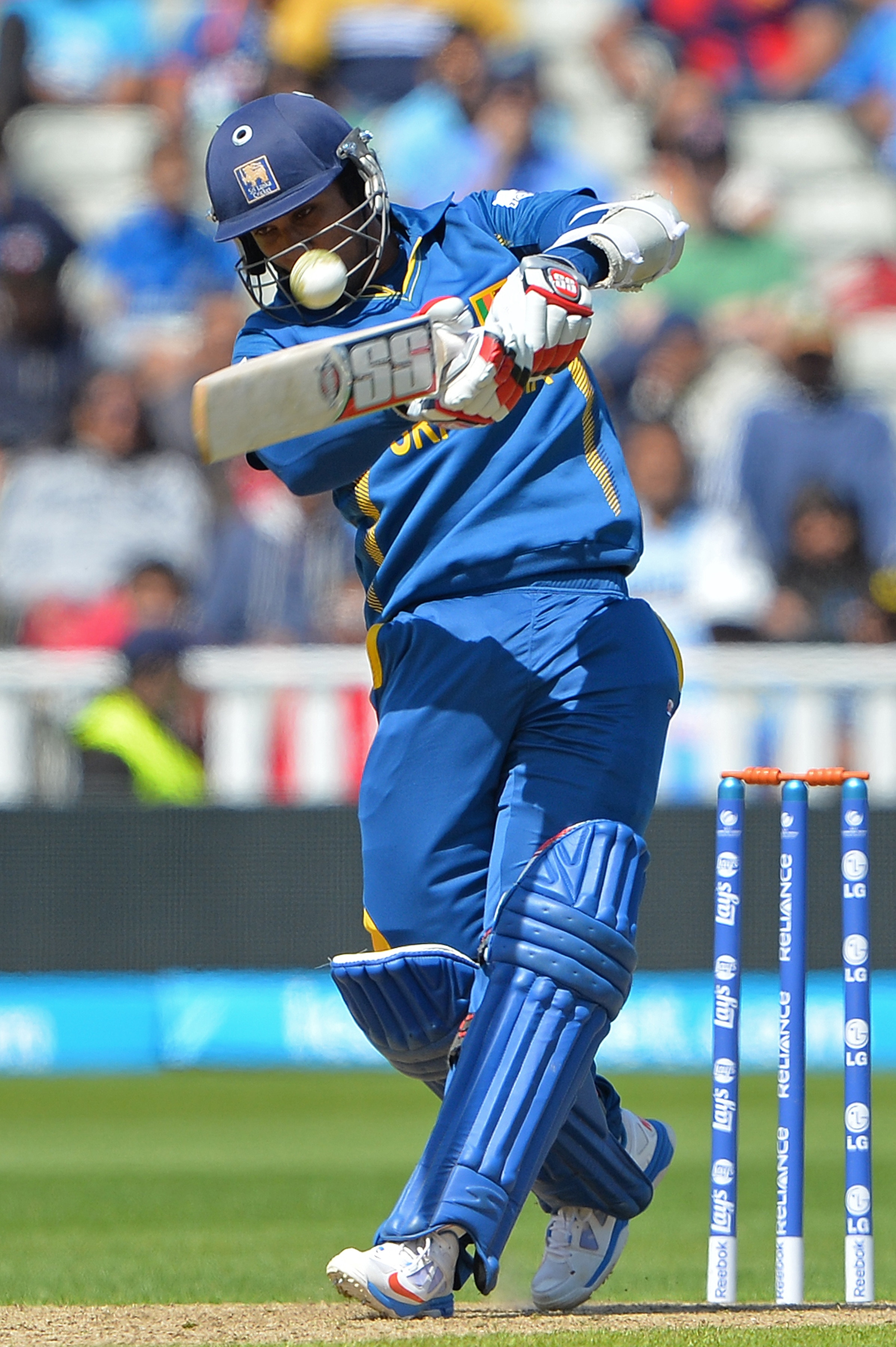 Dinesh Chandimal hit some crucial blows towards the end of the Sri Lanka innings to make sure his side goes well past the 300-run mark. As it turned out 333 for 3 was not enough in the end.