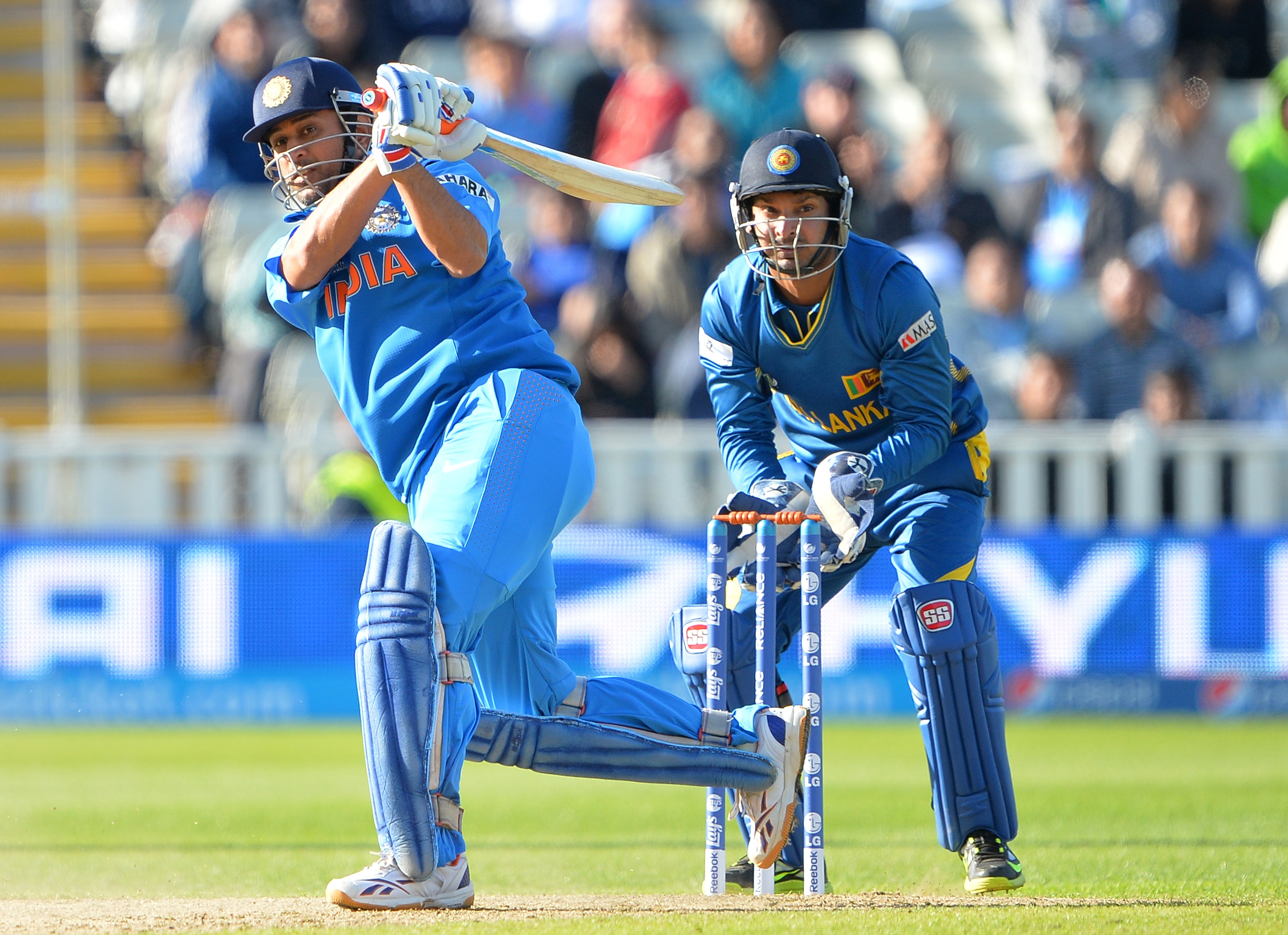 Dhoni then came in at number seven and spent some crucial time in the middle by scoring unbeaten 18 runs off 17 balls. He and Karthik (106 not out) made sure the Indians reached the target with an over to spare.