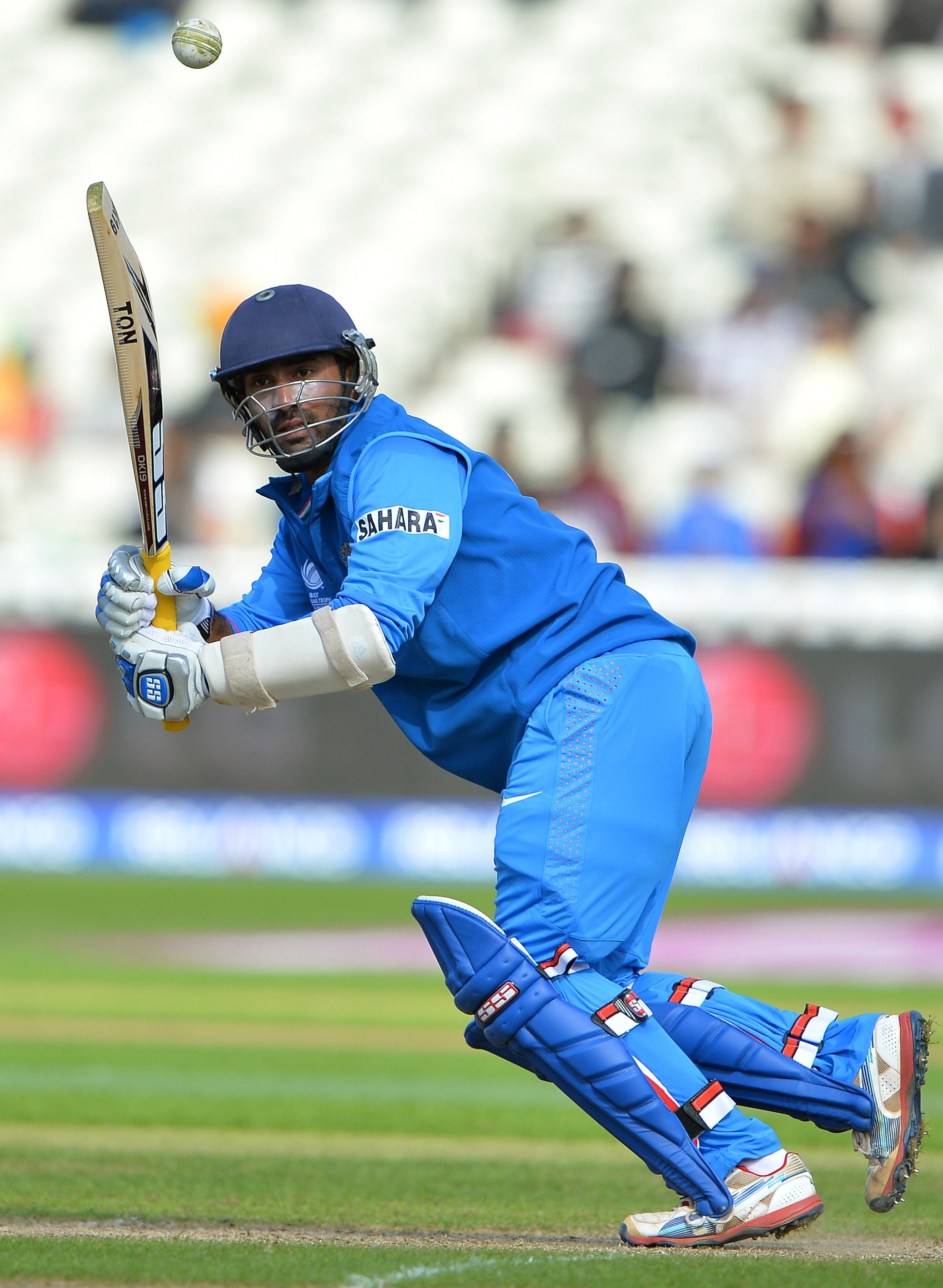 Once Raina departed when India were in a spot of bother at 110 for 4, Dinesh Karthik took centrestage with Kohli and played a solid hand, reaching a half-century.