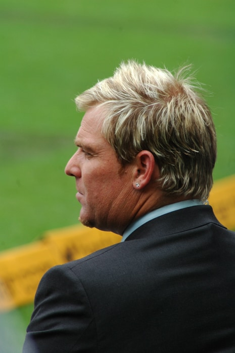 "Mark Waugh and Shane Warne were accused of accepting money from ""John"" or ""John the bookmaker"", an Indian bookmaker, in return for pitch and weather information. However, the players claimed to have refused to divulge more strategic material, such as team tactics and player selection policies. One of the most publicised of a series of betting controversies in cricket in the 1990s, the matter was initially covered-up by the then Australian Cricket Board (ACB)."