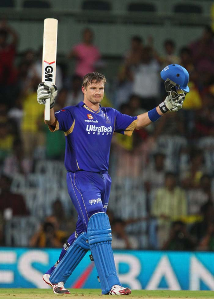 The Australian reached the three-figure mark off just 60 deliveries and it included six boundaries and as many hits beyond the playing area. (BCCI image)