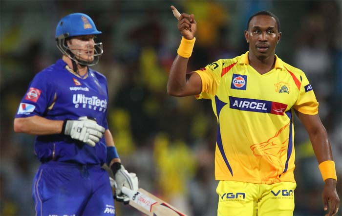 Watson's end came of the very next delivery as Dwayne Bravo forced him to play an inside-out shot which fell into the hands of Michael Hussey.<br><br>A valiant 101 for a player who has braved past challenges on several occasions in the past. (BCCI image)