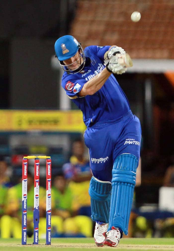 There was more carnage to follow as once Watson completed his fifty, he looked ready for another. (BCCI image)