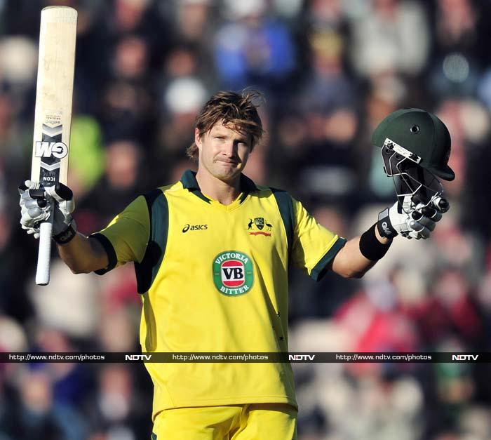 Shane Watson scored a sensational century as Australia beat England by 49 runs in the 5th and final ODI at Southampton. Australia claimed the series 2-1 to end a miserable summer in England on a high.