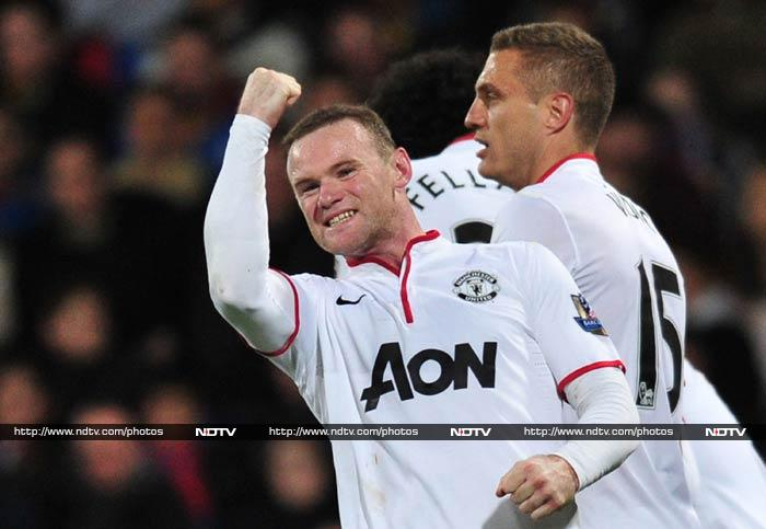 Wayne Rooney scored for the first time in two months as Manchester United beat Crystal Palace 2-0. <br><br>All images courtesy AFP.