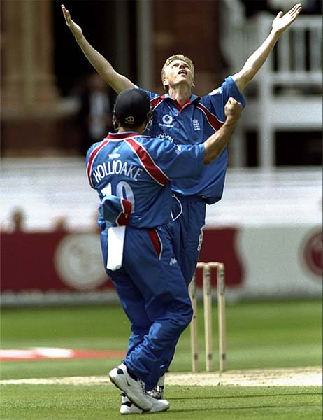 He had the second best average in his side during the 1999 World Cup but Allan Mullally's injuries forced him out of reckoning eventually. That he had the best economy in the English side in that tournament and a crucial four wicket haul against defending champions Sri Lanka failed to make a deep impact.