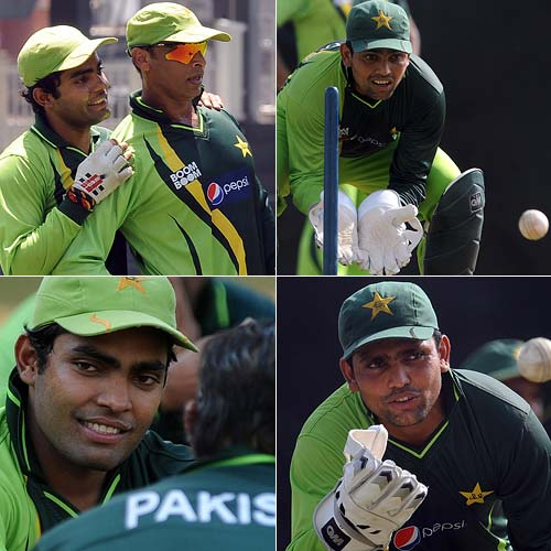 Pakistan wicketkeeper Kamran Akmal's calamitous performance behind the stumps against New Zealand unleashed a stream of criticism and paved the way for younger brother Umar to take over. That was until Umar hurt his finger and ankle in two training accidents and was accused by sections of the Pakistan media of feigning injury to save his brother's job.