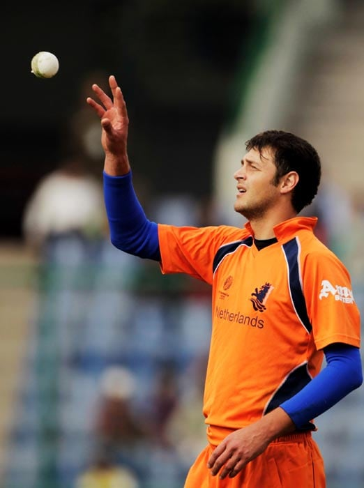 This Dutch cricketer's name sounds more like that of a pirate. (Getty Images)