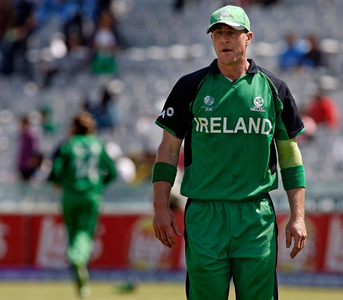 He is the real inspiration behind this concept. Luckily for this Ireland all-rounder, there is an 'e' in his last name that almost saved him from becoming a crazy cricketer. (Getty Images)