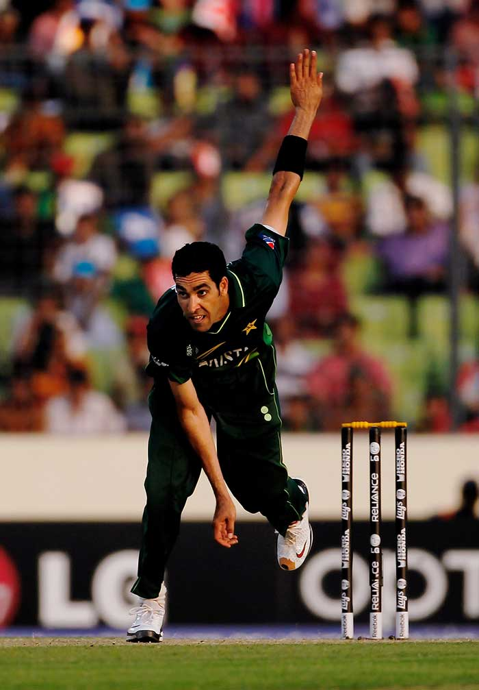 <b>Umar Gul (14 wickets) </b><br><br> He bowled well with the new ball and was equally good while bowling at the death, Pakistan paceman Umar Gul was a key figure to their success at the World cup 2011. (Getty Images)
