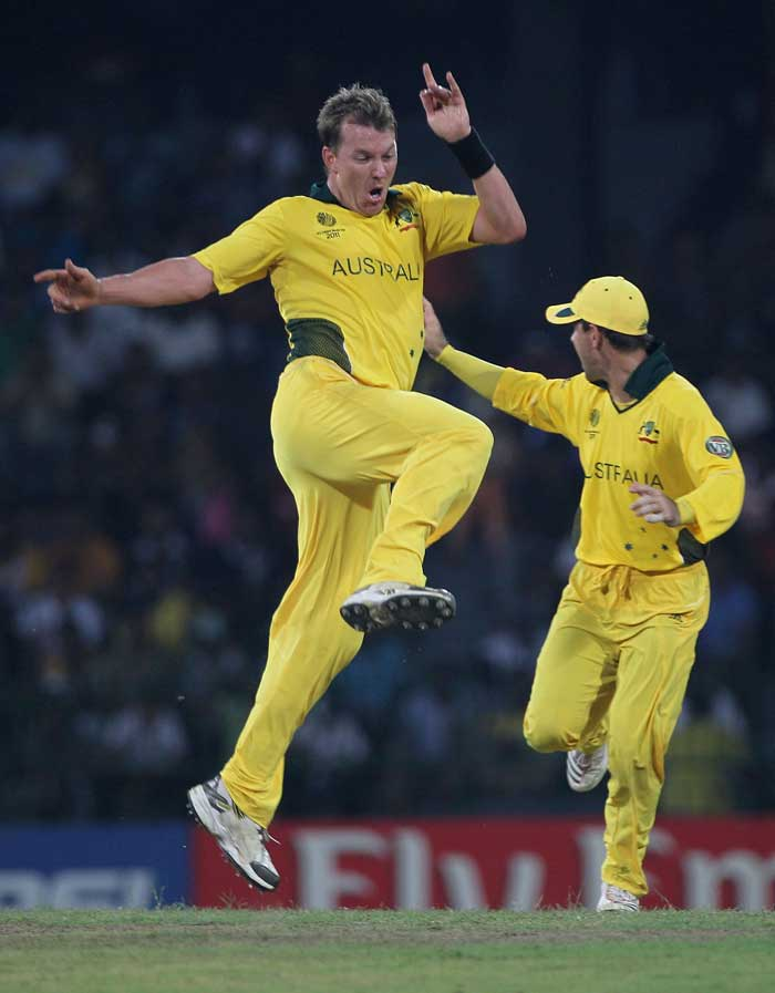 <b>Brett Lee (13 wickets) </b><br><br> Even though he has lost a yard or two on pace, Brett Lee is still the mainstay of the Australian bowling as he showed in the 2011 World Cup. (Getty Images)