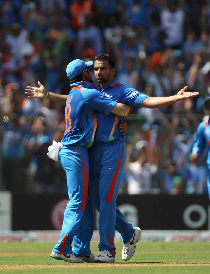 <b>Zaheer Khan(21 wickets) </b><br><br> When the Indian team was announced, it was widely believed that the bowling line-up would be build up around paceman Zaheer Khan. The canny bowler proved his worth as he became the joint leading wicket-taker with 21 wickets in his kitty. (Getty Images)