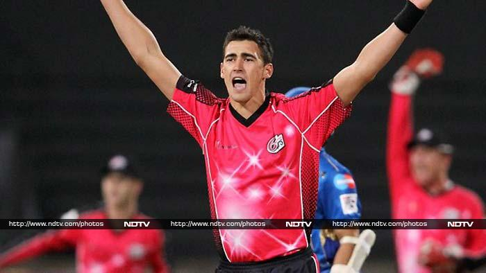 Mitchell Starc (Sydney Sixers) leads the pack with 14 wickets in 6 games at 7.20 runs per over with best figures of 3/19.