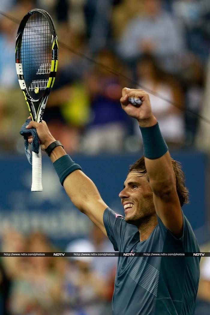 Day 10 of the US Open saw business as usual as the top guns advanced further in the quest for the title. (All AFP Photos)