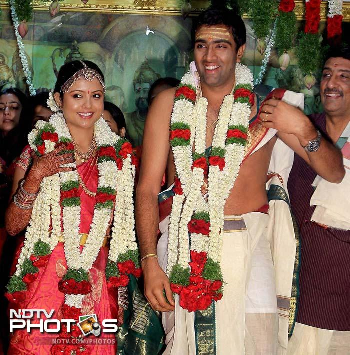 <b>R Ashwin:</b> Spinning has never been too much of a problem for this Chennai cricketer. And he did spin as he wed friend Preethi Narayanan in a traditional Tamil ceremony. Man of the match a few days before and back to cricket was Ashwin a day after his innings at the altar.