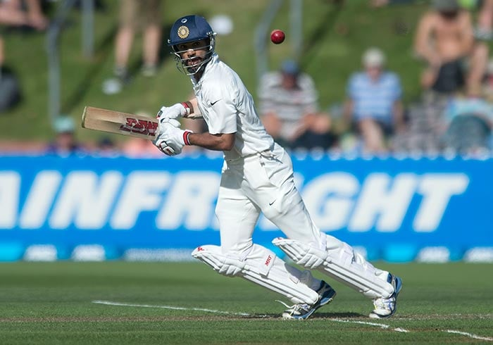 Dhawan was India's best batsman at display mixing caution with aggression and attacking the few loose balls on offer from the Kiwi bowlers. He reached his second successive score or fifty or more for the first time in Tests.