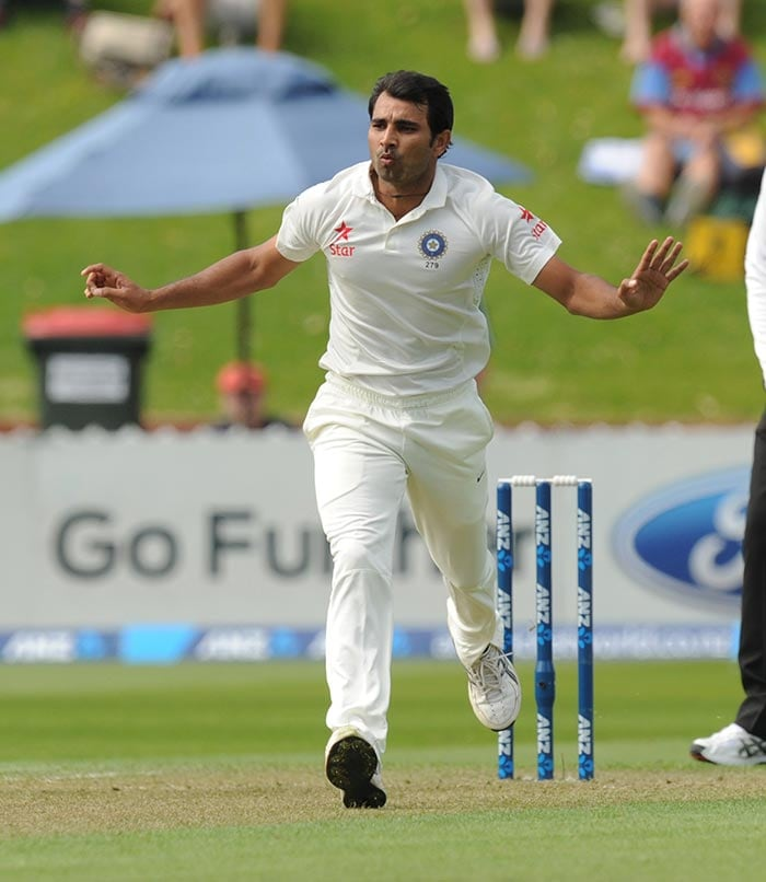 Mohd Shami did a brilliant support job to Ishant by keeping one end tight. he ended with figures of 4 for 70.