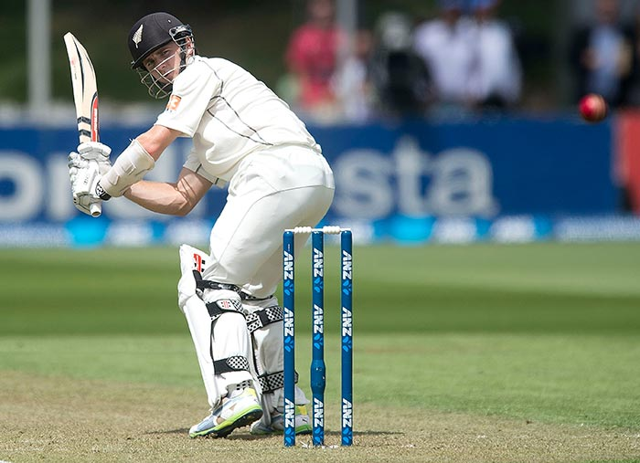 The hosts went into lunch at 51/4 but it could have been 49 for 5 had Zaheer Khan not bowled a no-ball when Kane Williamson was caught at mid-wicket in the last over of the first session bowled by Zaheer Khan. Williamson was later caught behind off another no-ball but finally after living a charmed life he fell to Mohd Shami.