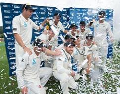 Kiwis record first Test series win over India after 11 years