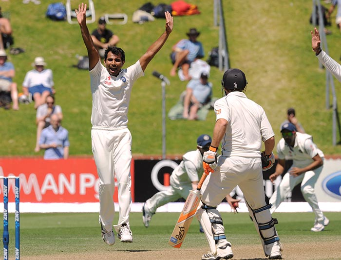 Mohd Shami's wicket of Watling was the lone wicket to fall on Day 4 and the only moment in the game that brought joy to the Indian team and supporters.