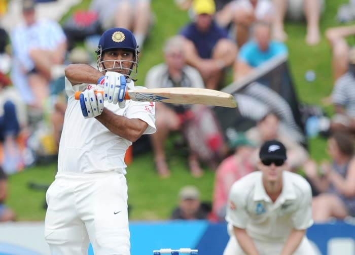 Mahendra Singh Dhoni then formed the partnership with Rahane that changed the course of the innings and quickly. Dhoni was enterprising in his 86-ball 68 and the two batsmen shared 120 runs in 145 balls.