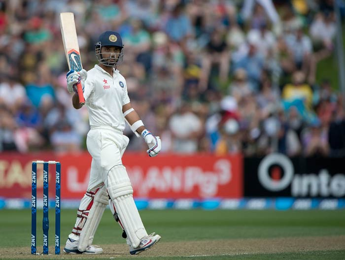 Rahane scored a fluent fifty and didn't look troubled at any stage in his innings.