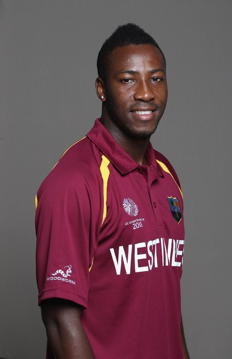 <b>ANDRE RUSSELL</b><br><br> <b>Age: </b>22.<br><b>Role: </b>Right-hand batsman, Right-arm fast<br><br> Opening bowler called-up for the ODI squad for the first time. Has played just one Test, finishing with match figures of 1-104 against Sri Lanka in 2010.(Photo: Getty Images)