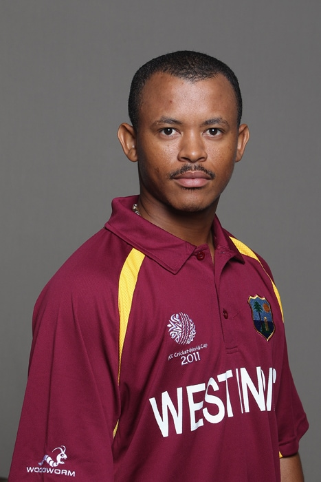 <b>CARLTON BAUGH Jr</b><br><br> <b>Age: </b>28.<br><b>Role: </b>Right-hand batsman, Wicketkeeper<br> <b>Stats: </b>ODIs 33, Runs 300, Highest 49, Average 18.75, Strike-Rate 71.94, Centuries 0, Fifties 0, Catches 22, Stumpings 5<br><br> Got wicketkeeper nod over Denesh Ramdin having made his ODI debut in 2003. Has found it hard to pin down regular place, but can be an explosive batsman in short, sharp bursts.(Photo: Getty Images)