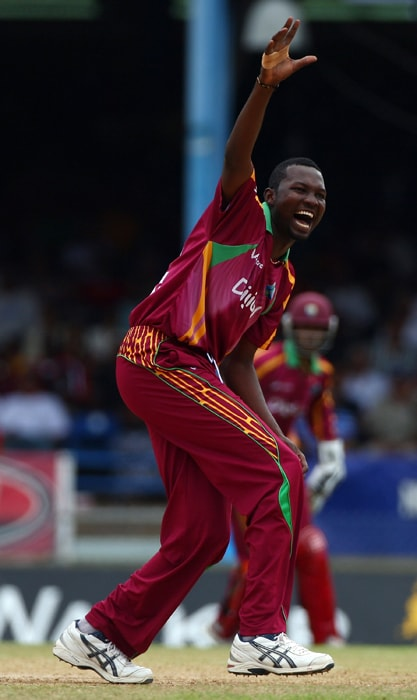 <b>SULEIMAN BENN</b><br><br> <b>Age: </b>29.<br><b>Role: </b>Left-hand batsman, Slow left-armer<br> <b>Stats: </b>ODIs 19, Runs 93, Highest 31, Average 9.30, Strike-Rate 80.17, Centuries 0, Fifties 0, Catches 1, Wickets 17, Best bowling 4-38, Average 40.35, Economy Rate 4.28<br><br> Beanpole all-rounder, steady rather than spectacular. Better known for on-field controversy having been sent away from the field by his own captain after refusing to bowl over the wicket against South Africa in 2010.(Photo: Getty Images)