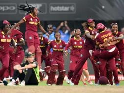 Photo : World T20: West Indies Women Party After Historic Win vs Australia