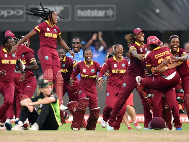 Photo : टी20 वर्ल्ड कप: जीत के बाद वेस्ट इंडीज की महिला खिलाड़ियों ने ऐसे मनाया जश्न