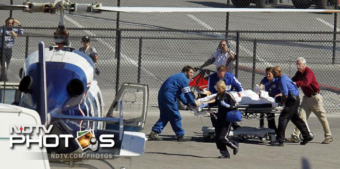 Wheldon, traveling behind the cars that initiated the chaos, couldn't avoid the crashes in front of him. A medical team frantically attended Wheldon before the driver was airlifted to hospital. The official confirmation of his death came some two hours after the race was stopped.