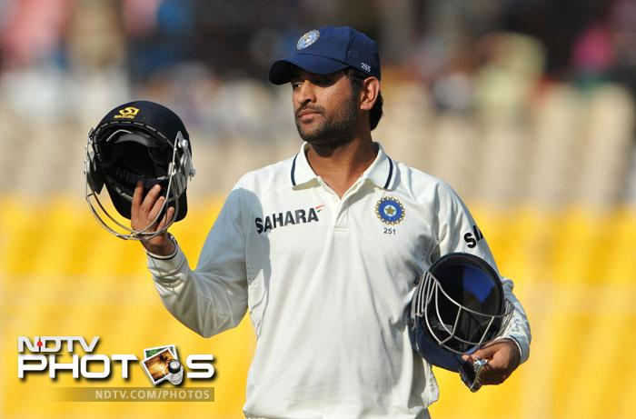 <b>Always the right time:</b>Indian skipper Mahendra Singh Dhoni could not have found a more opportune time to hit form. His quick-fire 98 in the third test meant that India put up a huge 566 and had to bat just once.
