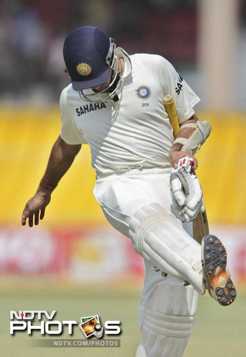 <b>Very Very Special:</b>Laxman might have got undone by a few roughies but his scores always came in a moment of distress. His 91 in the first test was a face-saving effort. In the third test though, when all batsmen were scoring, he managed just 12. A disappointing end to what could have been a brilliant series for him.