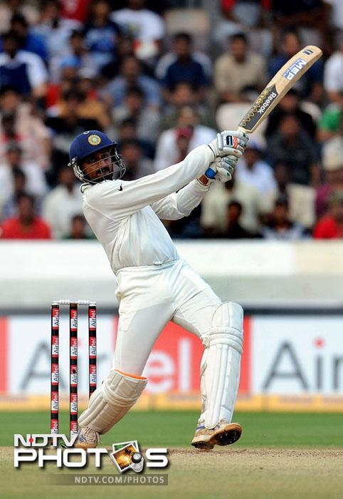 <b>Lo and Behold!</b> Another day, another century. Bhajji was not up to the mark as far as bowling goes but was in prime batting form. Top order batsmen did not convert their fifties into a big score but the turbanator did. His was the only hundred by an Indian in the second test match.