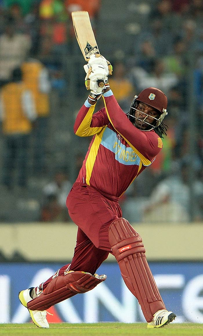 In a big chase (of 179), West Indies needed their talismanic opener Chris Gayle to fire. And he did just that! Gayle smashed a fifty and finished with 53 from 35 balls.