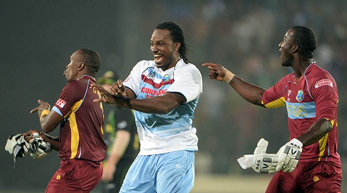 It was the Caribbean party in Bangladesh as the West Indies danced away to glory after their pulsating six-wicket win over Australia. (All images AFP)