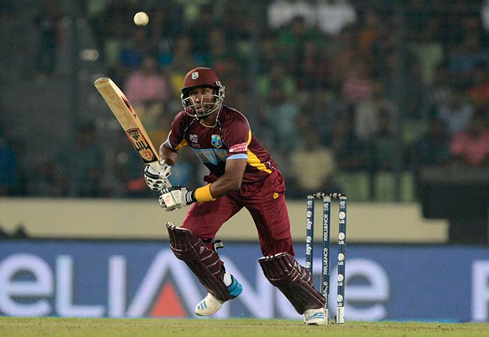 Bravo hit 46 off 26 balls. He had come at a time when WI innings was tottering at 81/5 in less than 14 overs.