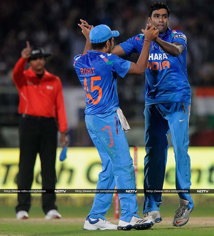 Ashwin added to the woes when he claimed two wickets in quick succession to pin West Indies down.
