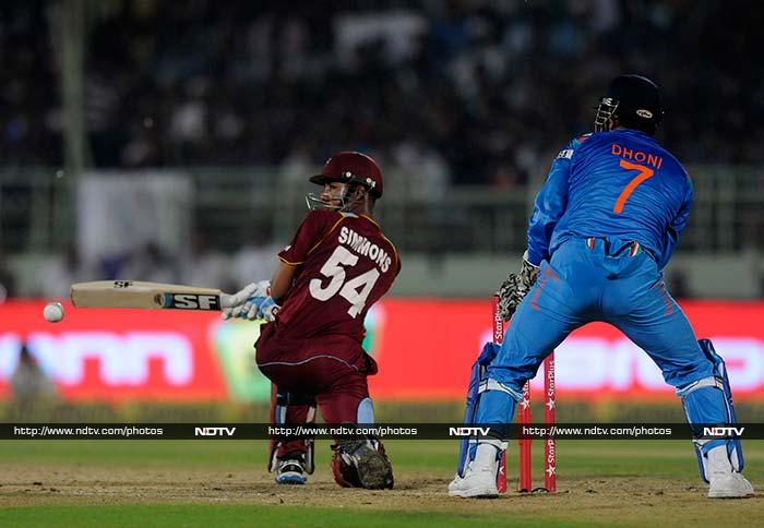 West Indies' cricket team continued to suffer defeats as India won the second of three ODIs as well to seal the series. <br><br>Highlights from the match in Vizag. <br><br>Images courtesy BCCI and PTI