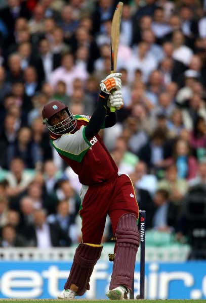 <b>Marlon Samuels</b>: With the ability to lash out and play sensibly at free-will, this right handed batsman has the potential to hurt the bowling with unforgiving consistency.